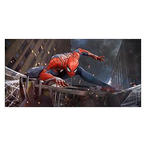 Неформатный постер Spider-man. Размер: 60 х 30 см